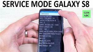 Service Mode Samsung Galaxy S8  S8  And Note 8