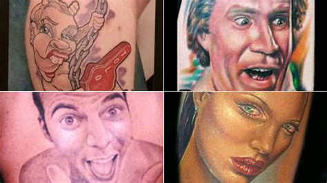 weird tattoos  celebrities orlando sentinel