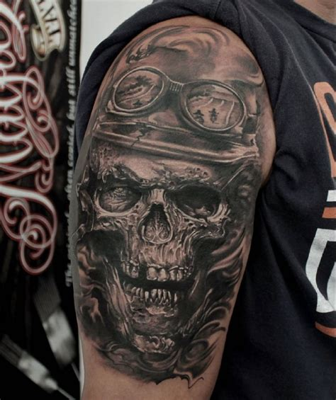 Ledcoultbikerskulltattoo  Tattoos  Pinterest Tattoo