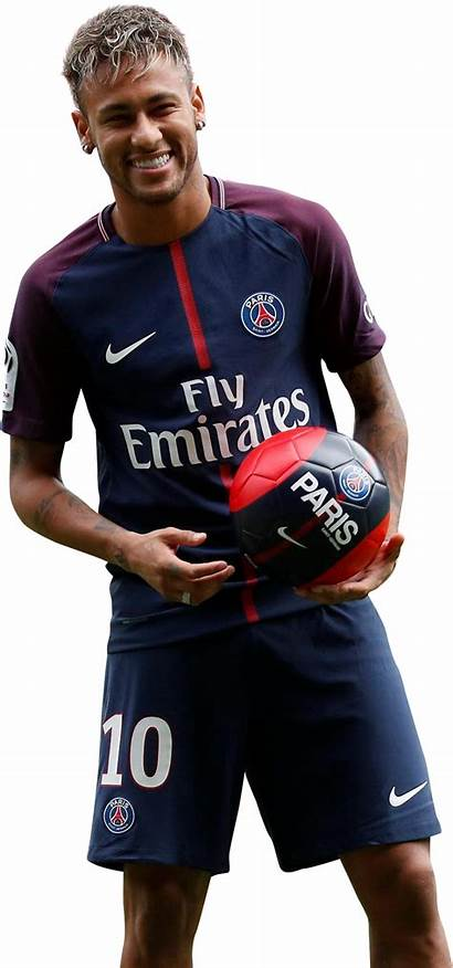 Neymar Psg Transparent Render Football Happy Background