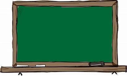 Clipart Blackboard Teacher Chalkboard Substitute Transparent Clip