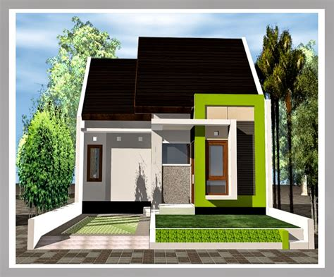 desain rumah minimalis warna putih desain rumah