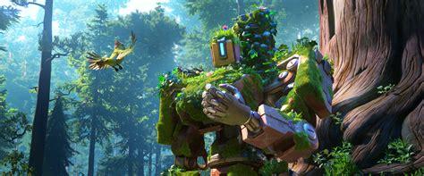siege d ordinateur wallpaper bastion defense overwatch 4k 2337