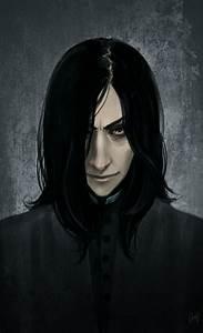 Snape again by LiaBatman on DeviantArt