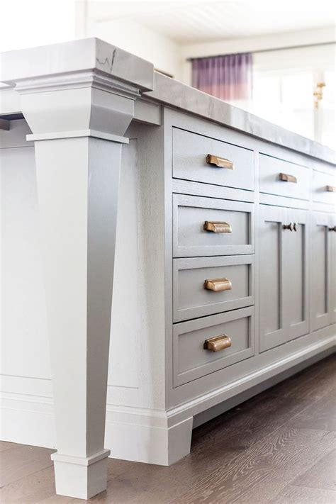 white grey  gold kitchen ivory lane  real