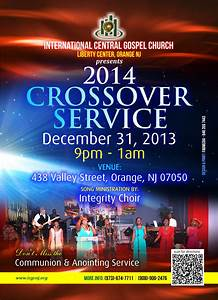 Cross Over Service – The Christian Journal