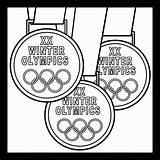 Medals Olympic Medal Coloring Olympics Pages Winter Clip Gold Drawing Printable Clipart Gymnastics Letter 2006 Sports Line Disney Prek Childhood sketch template