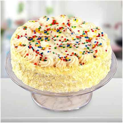 vanilla sprinkler cake cakengiftsin