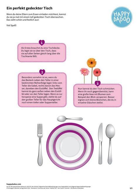 Richtig Tisch Decken by Richtig Tisch Decken Den Tisch Richtig Decken Regeln Und