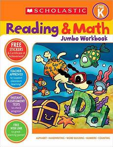 Reading and Math Jumbo Workbook: Pre-K by Terry Cooper ...