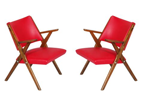 Poltroncine Design Vintage : Hans Wegner & Carl Hansen Ch28 Coppia Poltroncine Design