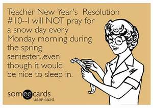 Top 10 Teacher New Year's Resolutions | The Pensive Sloth