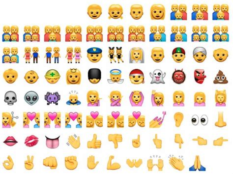 how to get new emojis on iphone 4 apple adds 300 new emojis to increase racial diversity