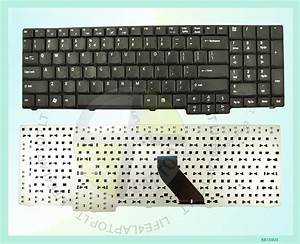 New Black Us Layout Laptop Keyboard For Acer Aspire 6530