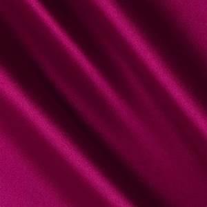 Silky Satin Charmeuse Solid Magenta - Discount Designer
