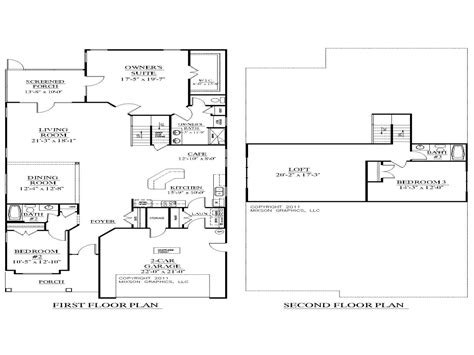 upstairs floor plans 2 small house plans 2 house plans with