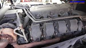 Mercedes-benz Om502 La V8 Engine View