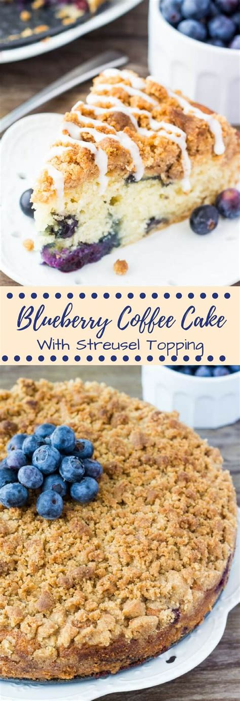 I love how simple and quick they are to make. Blueberry Coffee Cake - Just so Tasty