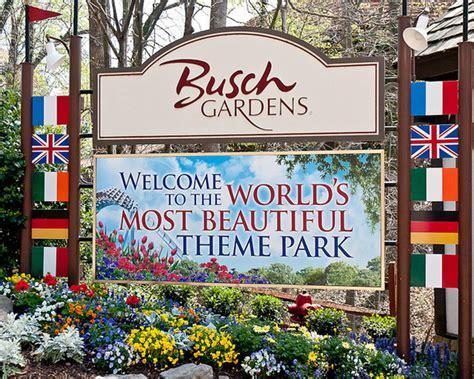 virginia busch gardens trip to historic williamsburg virginia