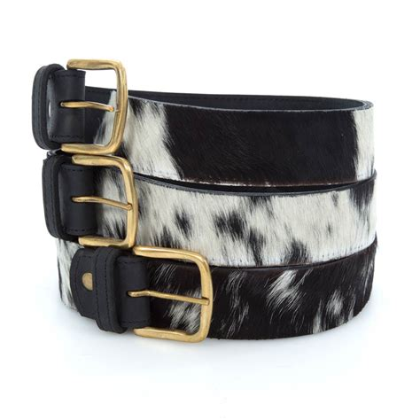 Cowhide Belts cowhide belts the jambo collection