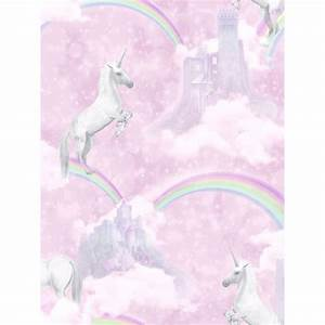 I Believe In Unicorns Wallpaper Pink Holden 12480 Bedroom