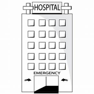 Black and white hospital clipart clipart kid 4 ...