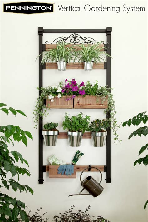 Vertical Gardening System by Fresh Salsa With Pennington Vertical Gardening System