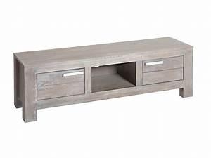 Meuble Tv Bois Gris : meuble gris bois resine de protection pour peinture ~ Teatrodelosmanantiales.com Idées de Décoration