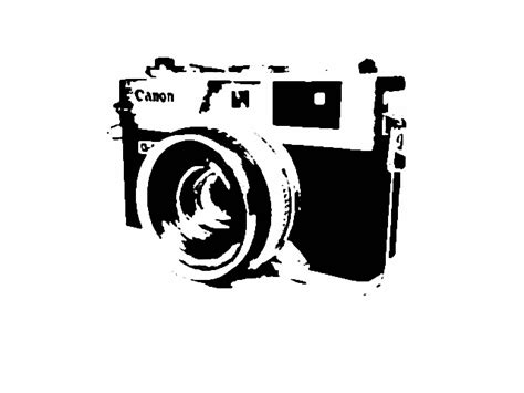 camera stencil  nickwentskating  deviantart