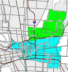 Map of East Columbus Ohio Area