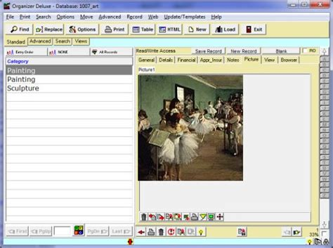 art antiques inventory simple  template