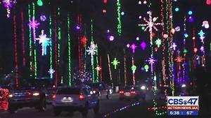 Inside Christmas Lights Display In Girvin Road