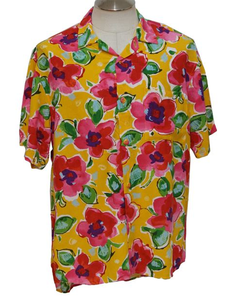 jams world  vintage hawaiian shirt  jams world