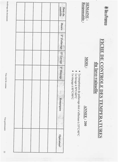haccp en cuisine les fiches d 39 enregistrement pour le haccp recettes de