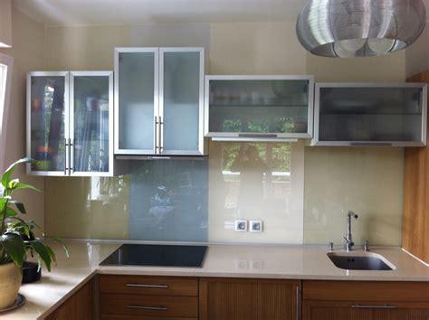 credence en verre trempé pour cuisine crédence en verre trempé laqué verre trempé sur mesure