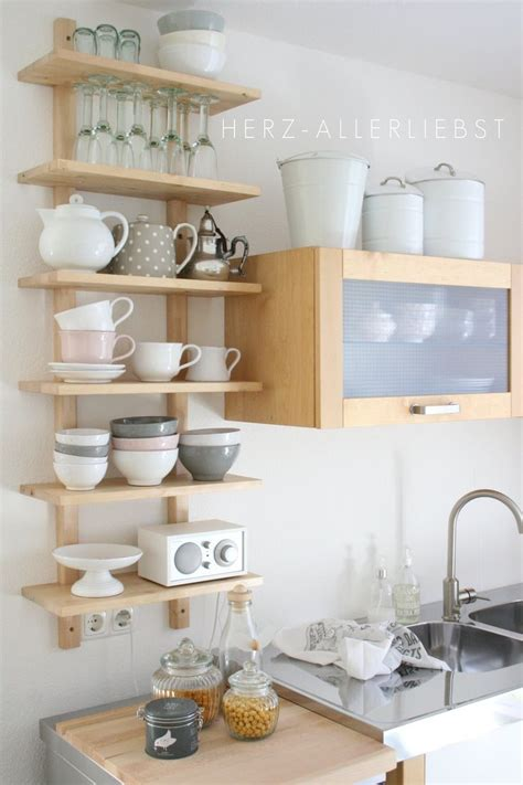 ideas  open shelf kitchen  pinterest