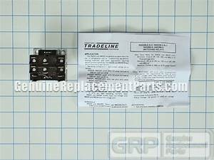 Honeywell Part  R8222d1014 Switching Relay  Oem  Dpdt 24