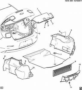 Chevrolet Malibu Floor Mat  Trunk Compartment  W  O Eco