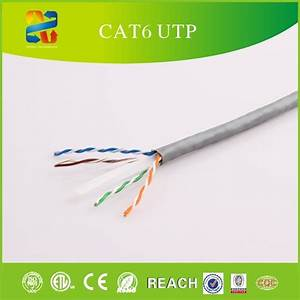 China Category 6 Utp Color Code Network Cable With Etl