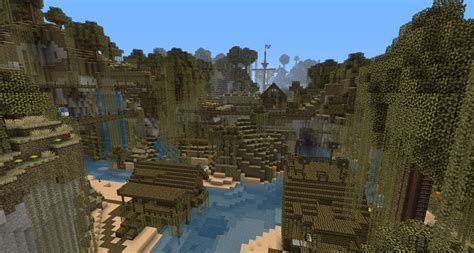 Minecraft Boat Town by Archespore River Town Minecraft Project