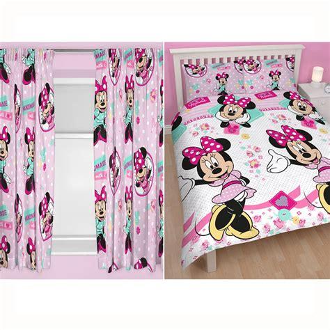 minnie mouse bedroom range single duvet cover