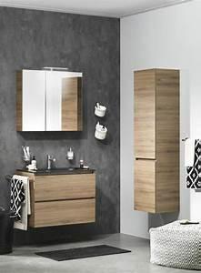 la colonne de salle de bain nos propositions en 58 photos With salle de bain couleur bois