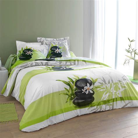 parure canapé parure de lit blanche porte parure de lit tessya coton