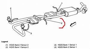 Bank 1 Sensor 2 On A 1999 Gmc Yukon Slt 5 7lt