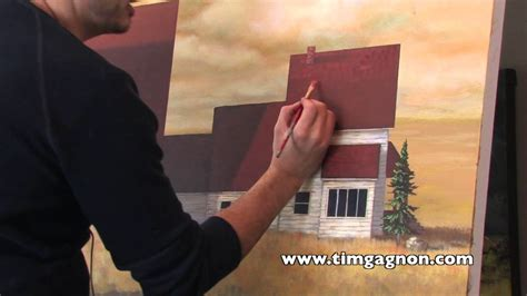 acrylic landscape painting tips  tricks painting