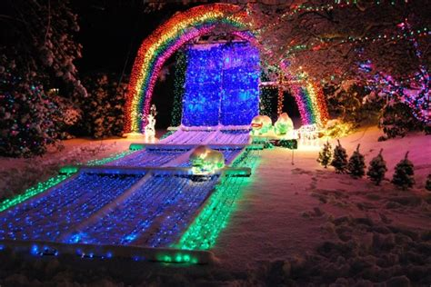 lights of christmas washington state 12 of the best light displays in washington this winter