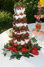 Chocolate Covered Strawberry Centerpiece