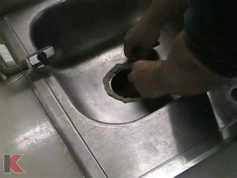 installing a kitchen sink strainer keeney manufacturing sink strainer install tutorial 7537