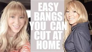 How To Cut Your Own Bangs  Easy Diy Bangs At Home