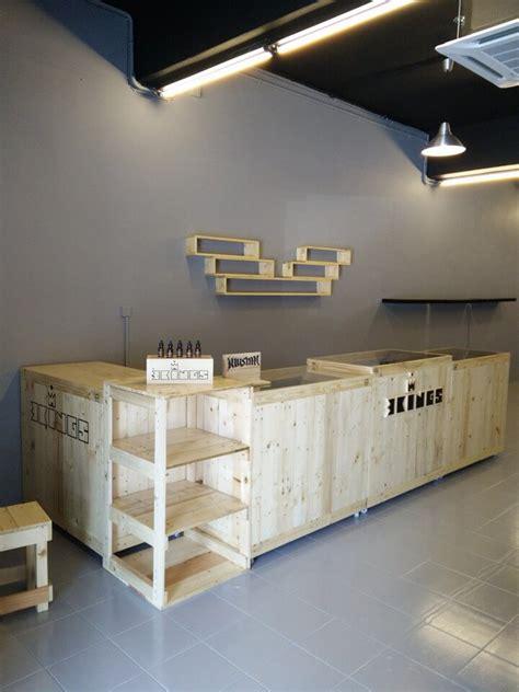pallet shop counter pallet shop project pallet furniture